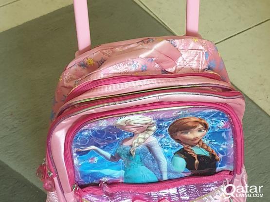 New school trolley bag
