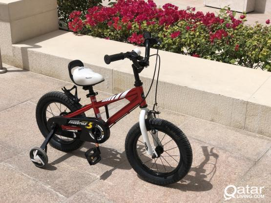 "14"" kids bicycle"