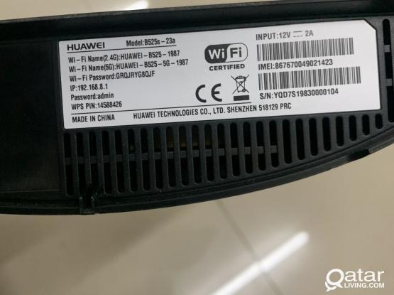 Huawei 4G device