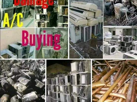 Damage ac and washing machine buying 31134887