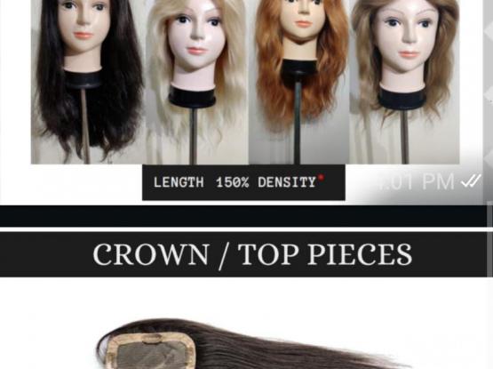 100% Raw Virgin Hair extension available