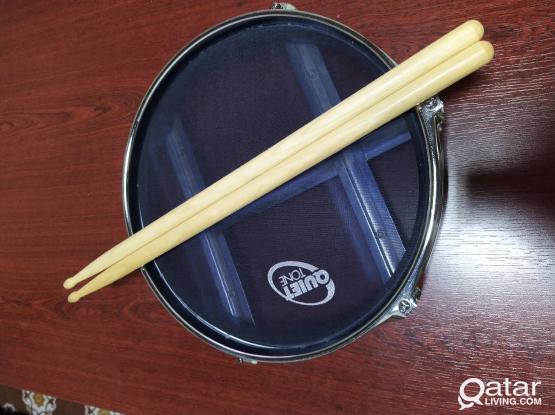 Sabian quite tone practice pad and sticks
