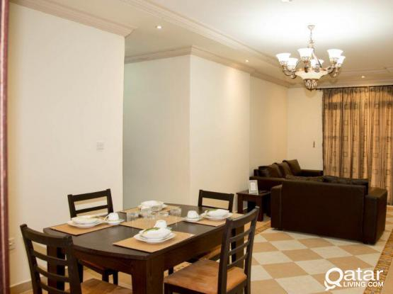 All Bills Included!! Fully Furnished 2BHK Apartment in Mansoura