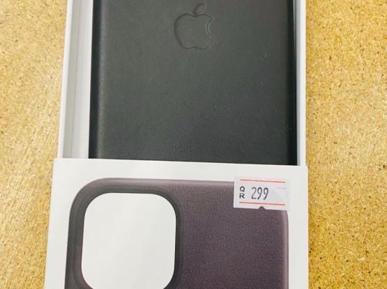 11 Pro max Leather Case Black