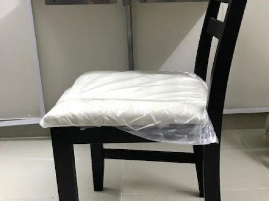 IKEA Wooden padded chair