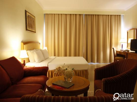 Elegant 2-Bedroom Fully Furnished in Ezdan Tower in West Bay