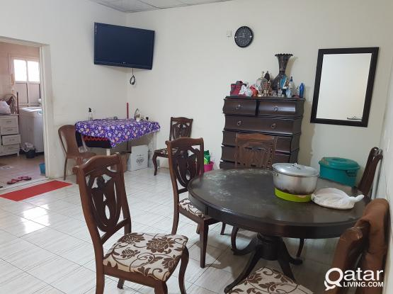 SMALL ROOM +BED SPACES FOR EXECUTIVES IN MADINA KHALIFA NORTH