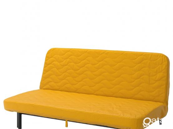 IKEA 3 seat sofa bed almost new
