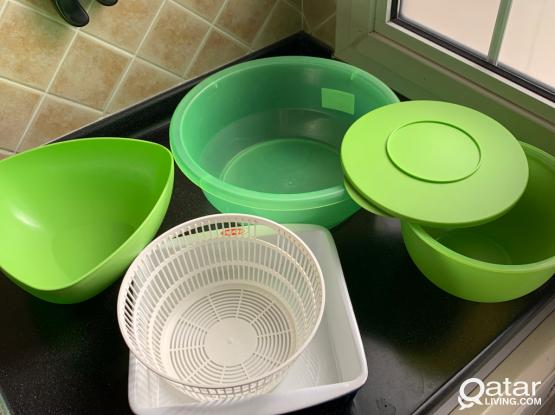 Plastic Containers All For 45 QR