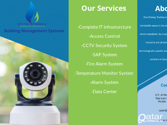 Security Systems CCTV, Access Control, IT Solution