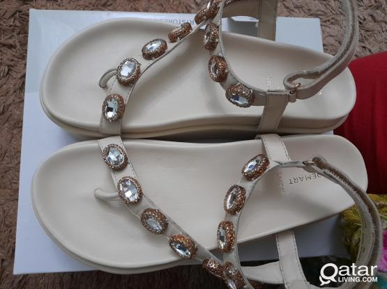 New Fancy Leather sandal from Shoe Mart