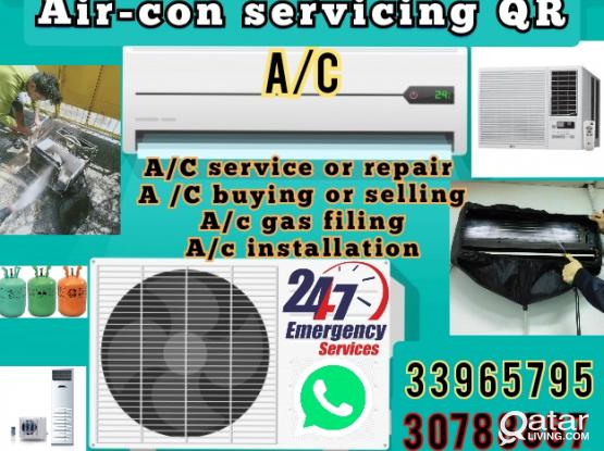 A/C all kinds of Maintenance services.repair, gas filing,installation