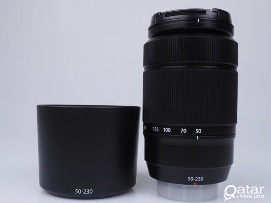 Fujifilm XC 50-230mm lens