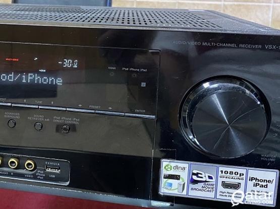Pioneer VSX 1021 , 7.1 channels