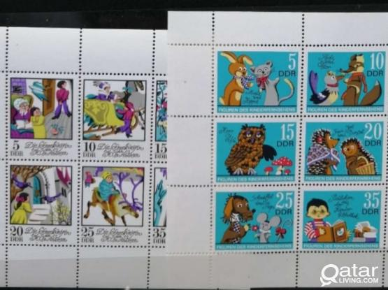 64pcs+11mini sheets stamps Germany (DDR)