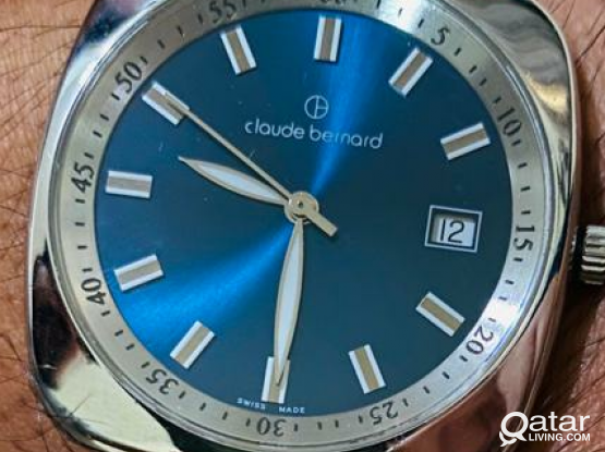 Used watch. Swiss made. Claude bernard
