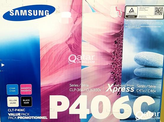 Samsung Toner CLT-P406C Pack New not use