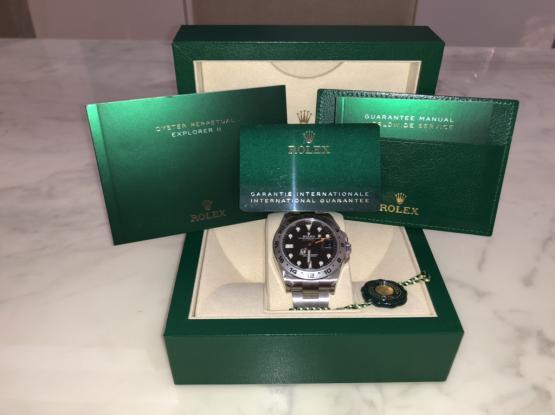 Rolex Explorer II Reference 216570