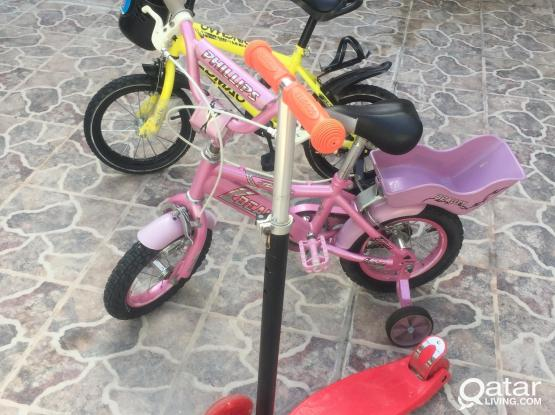 14 & 12 plus scooter