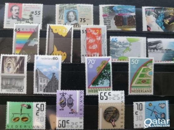 stamps 65pcs (30sets) and 7mini sheets.