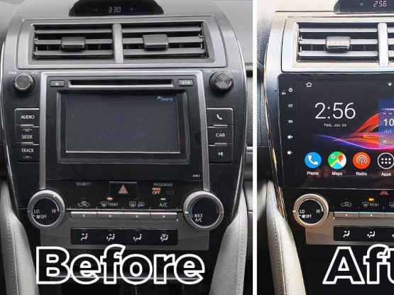 car LCD camry 2012 to 2017