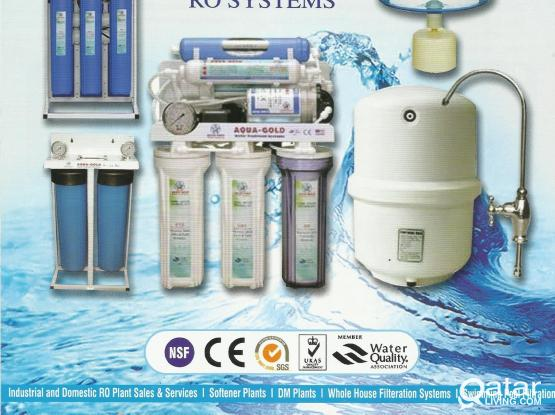 AQUA GOLD 6 stage RO Water filter