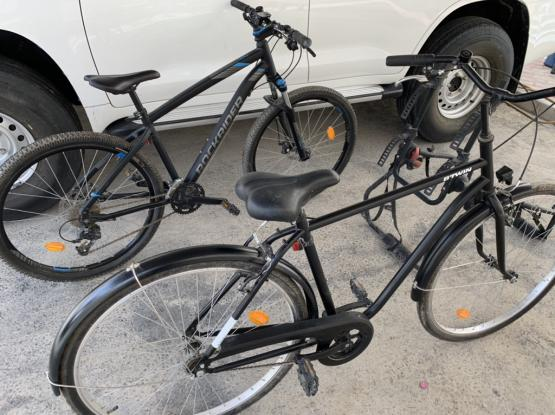 Two New DECATHLON Bicycles With Holder