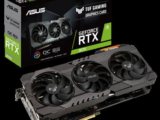 ASUS TUF Gaming NVIDIA GeForce RTX 3070 OC Edition