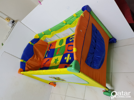 Travel Cot/ folding baby bed