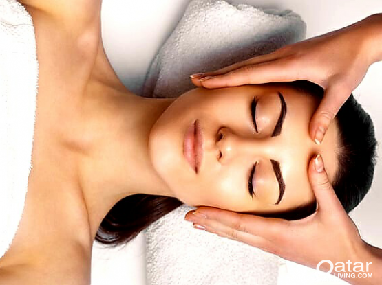 Full hand massage facial more then 1hours