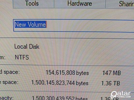 Desktop Hard Disk 1.5TB