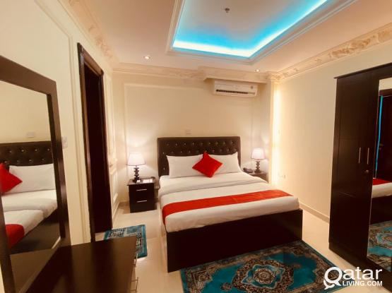 Fully Furnished Nice 1 BHK Apartment at Old al Ghanim