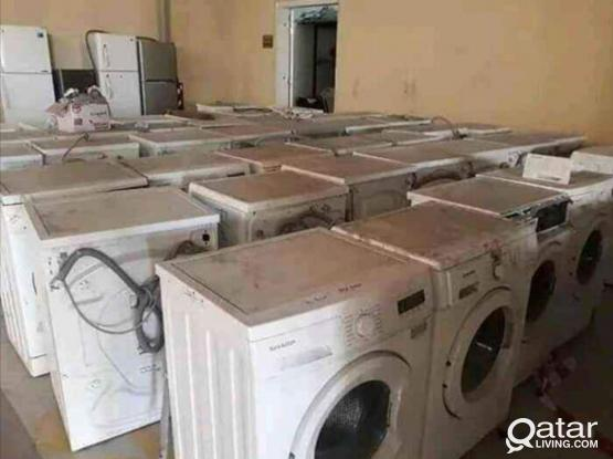 We buy not working Ac, Fridge, & Washing machine call 66783998