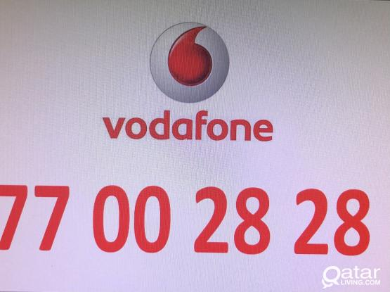 Mobile number Vodafone - 77 00 28 28