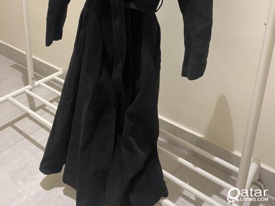 Coat genuine leather