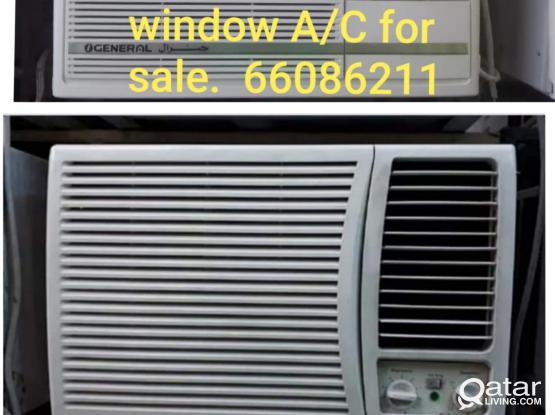 Window AC for sale. Please call or WhatsApp 66086211