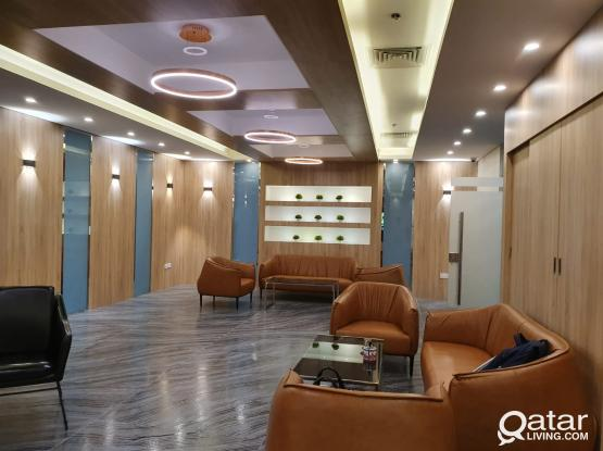 5 people to 10 People Fully Furnished Business Center