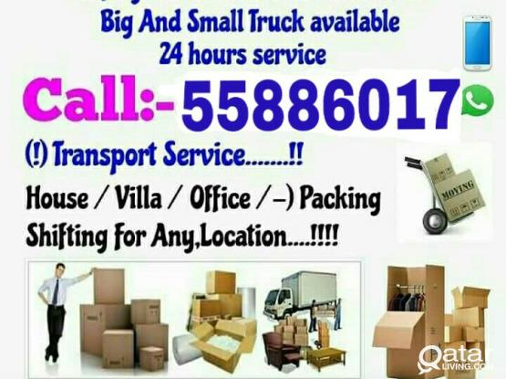 Moving and shifting all kinds at good price