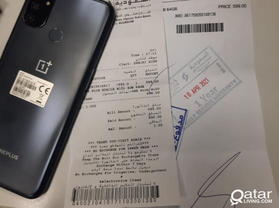 One Plus N100 (1 day use)