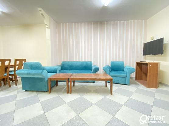 ( No Commission ) Spacious and Fully Furnished 2 BHK Available in Mushaireb, Opposite Side of Home Centre