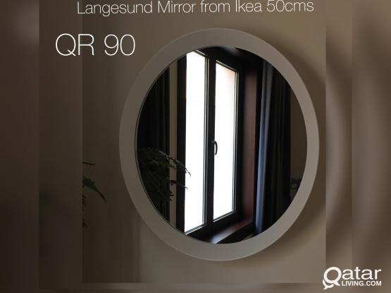 Mirror from Ikea