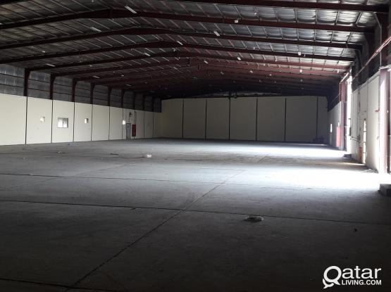 7200 SQM STEEL FABRICATION WORKSHOPS *FOR RENT NDUSTRIAL AREA