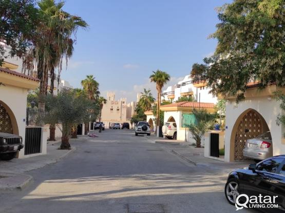 GROUND FLOOR 1 BHK VILLA APPARTMENT FOR RENT IN OLD AIRPORT 3700 QR