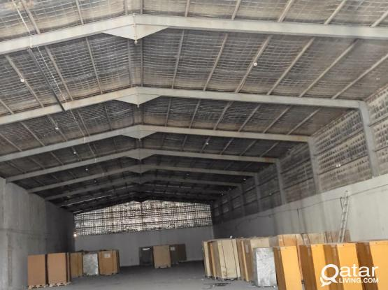 1400 SQM GENRAL STORE FOR RENT IN INDUSTRIAL AREA