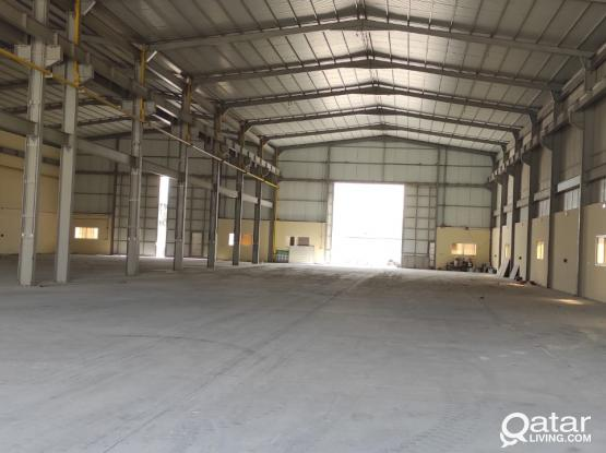 2000 SQM GENRAL STORE FOR RENT IN INDUSTRIAL AREA