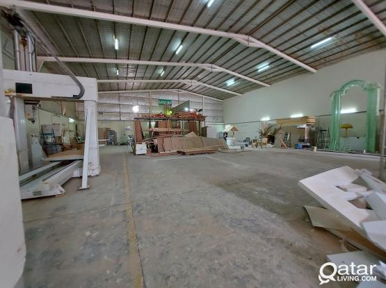 Work Shop for rent 1000sqm with 16 Rooms 4 office industrial area