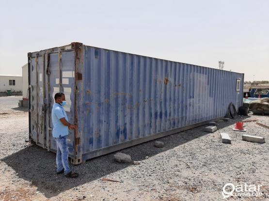 USED 1 X 40FT CONTAINER FOR SALE