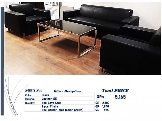 RE SELLING Of Office FURNITURES 