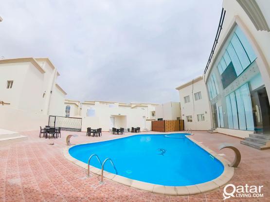 Unfurnished, 5 BHK Compound Villa in Ain Khalid @ 9,300