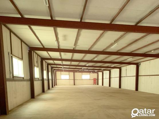 1200 sqm ware house available in industrial area